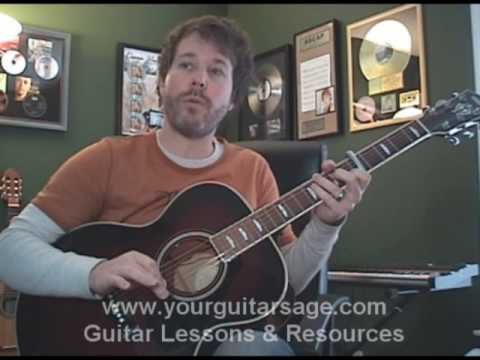 Guitar Lessons I Will Follow You Into The Dark By Death Cab For