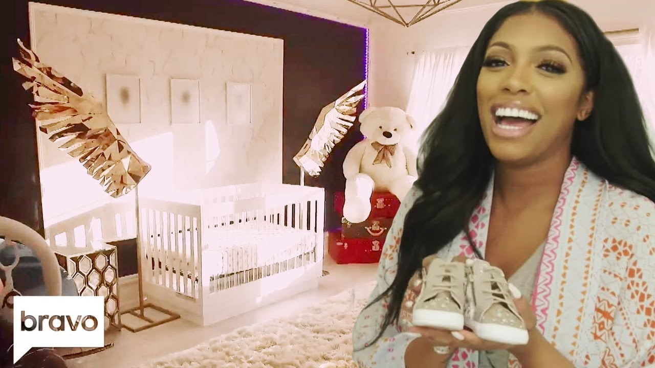 Porsha Williams Gives A Tour Of Daughter Pilar Jhena's Nursery | Bravo