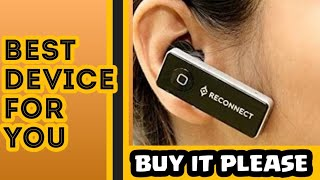 Unboxing 1 Reconnect Bluetooth mono headset Bluetooth calling
