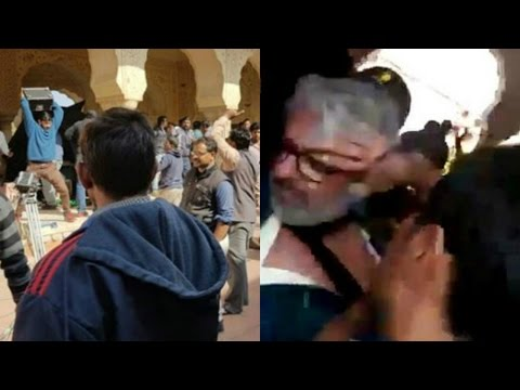 Sanjay Leela Bhansali Beaten By KARNI Sena On the Sets Of Padmavati In Jaipur
