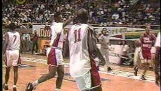 Carl Herrera Clavada (Dunk) Vzla vs. Cocodrilos Ccs 1992