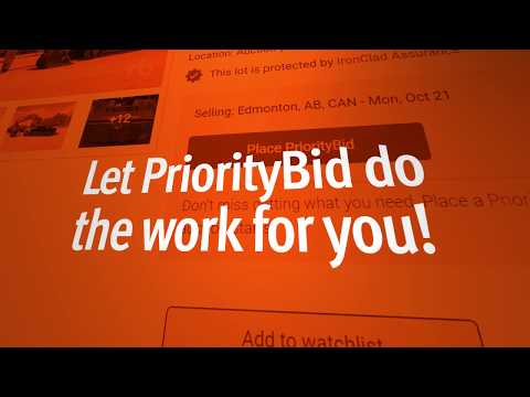 PriorityBid - Bid Online Without Being Online!