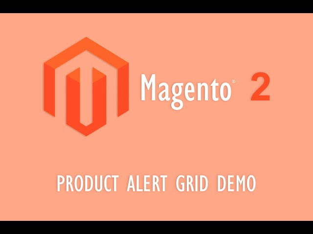 Product Alert Grid Demo
