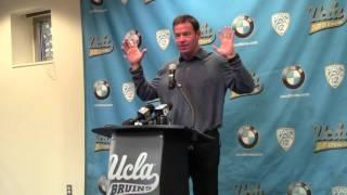 UCLA coach Jim Mora recaps Bruins