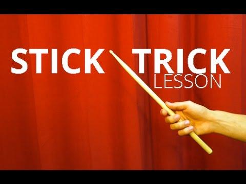 Stick Trick   Lesson (Как крутить барабанную палочку?)