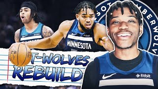 MINNESOTA TIMBERWOLVES REBUILD WITH D'ANGELO RUSSELL IN NBA 2K20