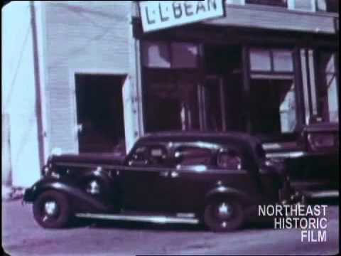 Visit to L.L. Bean, Freeport, Maine 1936