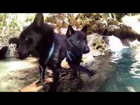 Zonne & Zotke first waterfalls