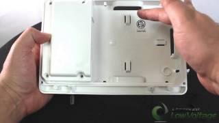 Arlington Industries TVL2508K TV Bridge Kit Low Profile Box