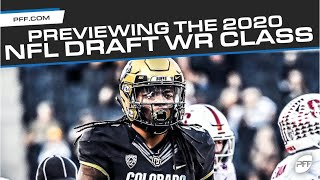 Previewing The 2020 NFL Draft WR Class   PFF