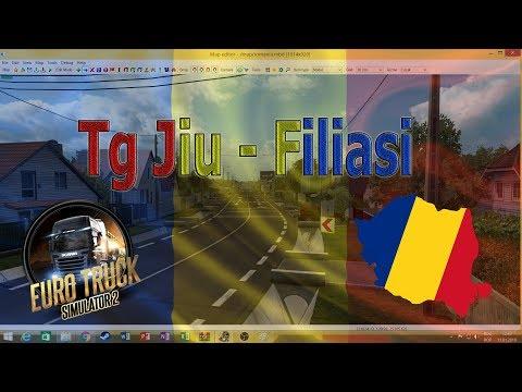 Euro Truck Simulator 2 Harta Romaniei Lucram La Targu Jiu