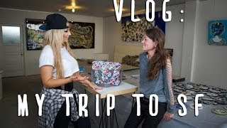 VLOG: Visiting Klari's Art Studio In San Francisco Thumbnail