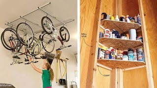 24 Clever Storage Ideas for Hard to Store Stuf