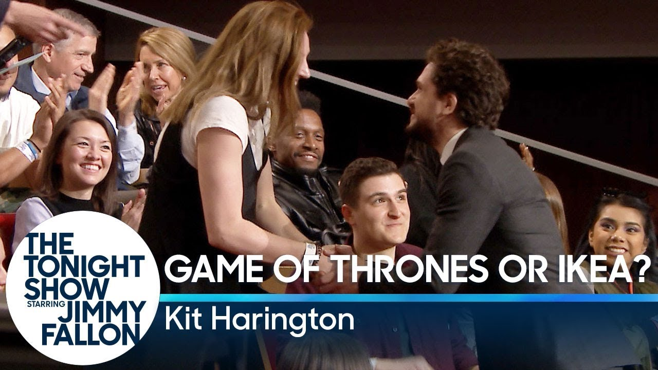 Game of Thrones or Ikea? with Kit Harington