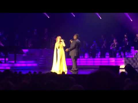Celine Dion - I'm your angel and Think twice Las Vegas Sep19 ,2017