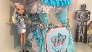 DARLING CHARMING DOLL BED REMAKE EVER AFTER HIGH
