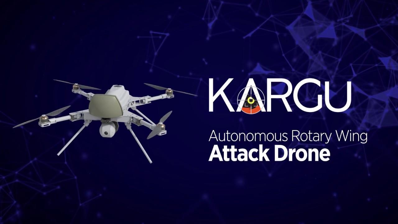 Летающий робот совершил атаку на людей. Началось восстание машин?