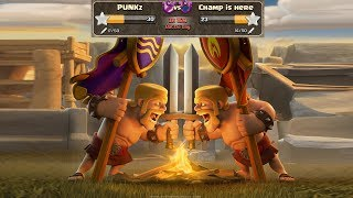 Live clan war|punkz vs champ is here|clash of clans war