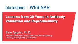 lessons from 20 years in antibody validation and reproducibility