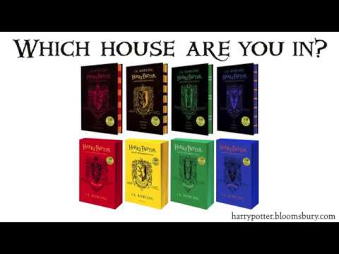 Hogwarts House Editions of J.K. Rowling's Harry Potter and the Philosopher's Stone