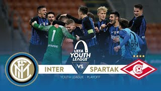 Inter vs. Spartak Moscow 3-3 (6-4 a.p.)   Highlights UEFA Youth League