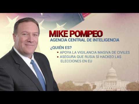#LaHoraTrump Mike Pompeo, Agencia Central de Inteligencia