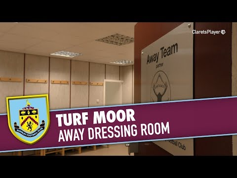 TURF MOOR | Away Dressing Room Relocation