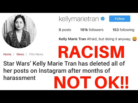 Star Wars Racist Fanbase Needs To Stop (Kelly Marie Tran Instagram Harassment)