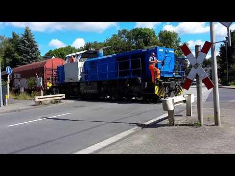 Diesellok schleudert beim Anfahren in Dierdorf
