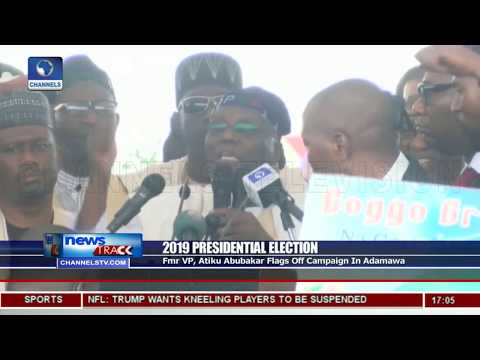 Atiku Flags Off Presidential Campaign In Adamawa