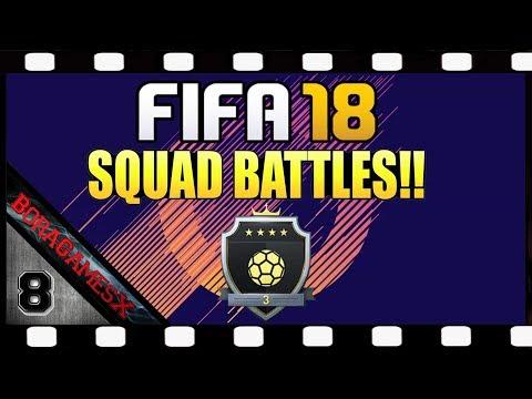 Zagrajmy w FIFA 18 Squad Battles #8 + Paczki za Elite 3 💥