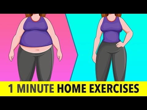 1-Minute Stay At Home Exercise Home Workout