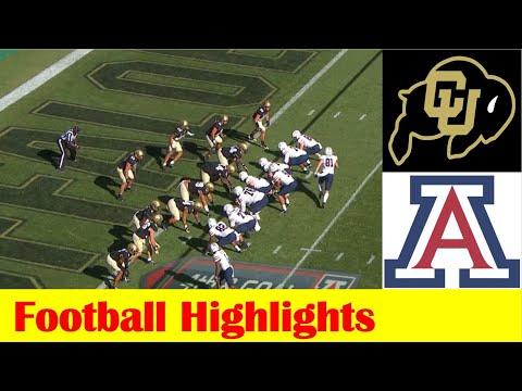 Arizona vs Colorado Football Game Highlights 10 16 2021