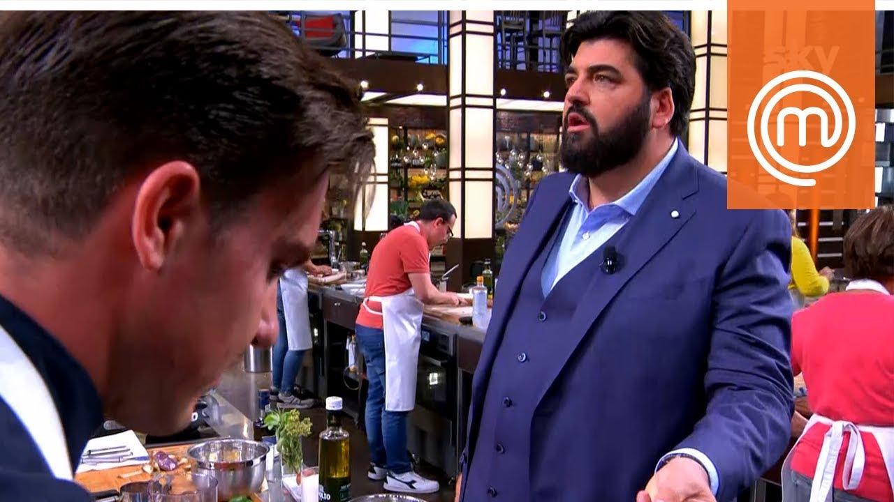 Gilberto e Cannavacciuolo non si prendono proprio   MasterChef Italia 8