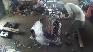 видео Коленчатый вал ЯМЗ 236