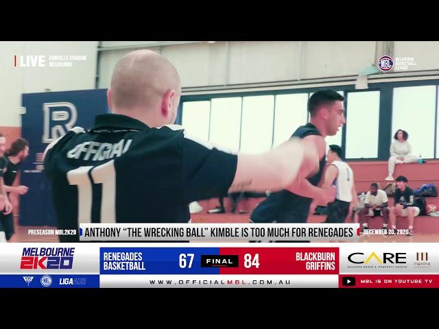 MBL 2K20 Preseason: Griffins vs Renegades