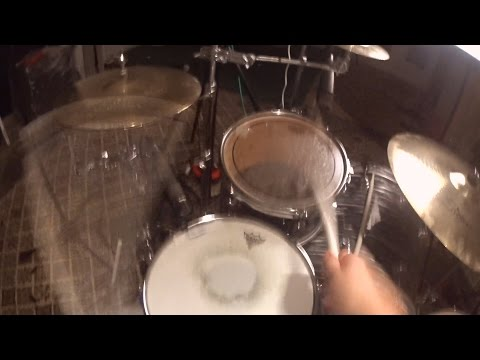 First person view - Punk drumming