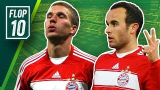 Mia san Flops! Die Top 10 Transfer Fails des FC Bayern!