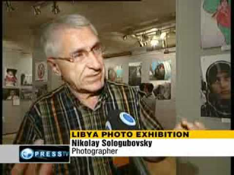 Russian photographer depicts war-torn Libya
