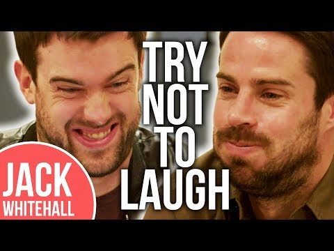 Jamie Redknapp Is NOT A Fan Of Jack Whitehall's Own Joke!! | No Laugh Challenge
