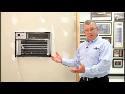 Air Conditioners Through The Wall Installation Youtube