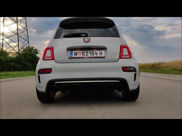 Abarth 595 Esseesse Soundcheck