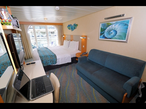 Allure Of The Seas Boardwalk View Balcony Cabin Tour