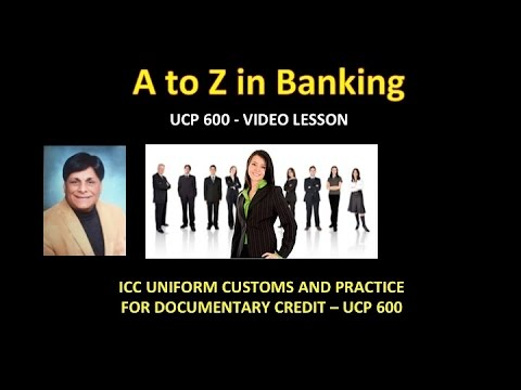 ICC Uniform Customs and Practice for Documentary Credits (UC