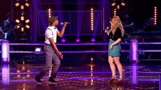 The Voice UK 2013 | Exclusive Preview: CJ Vs Leah - Battle Rounds 2 - BBC One