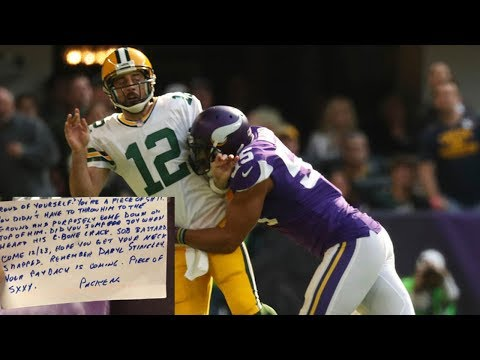 Anthony Barr Receives VIOLENT Hate Mail for Injuring Aaron Rodgers' Collarbone