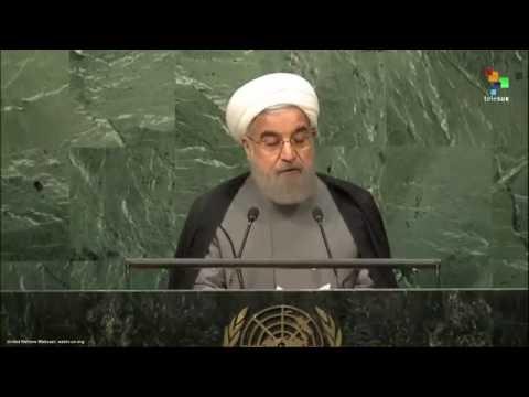 UN Speeches:  Iran President Hassan Rouhani