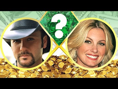 WHO'S RICHER? - Tim McGraw or Faith Hill? - Net Worth Revealed! (2017)