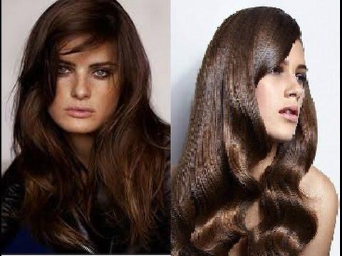 Dark Chestnut Brown Hair Color Ideas - YouTube