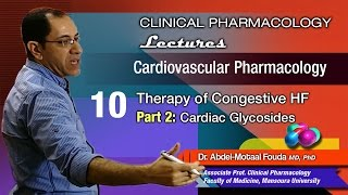 Cardiovascular Pharmacology - 10 - Congestive heart failure - Cardiac glycosides